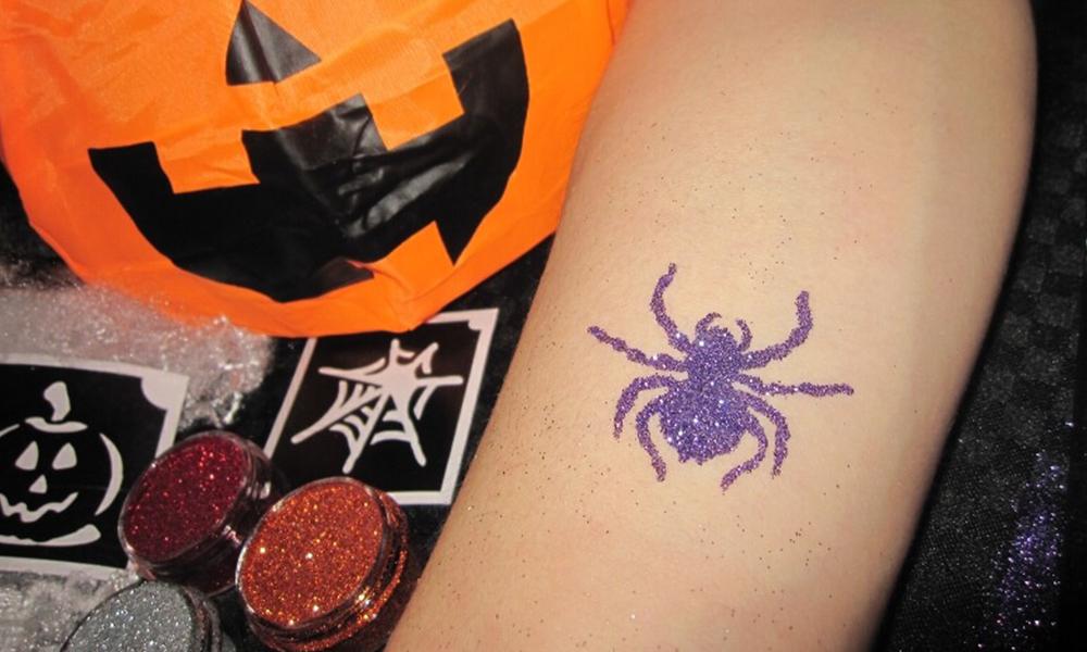 tatouages paillettes