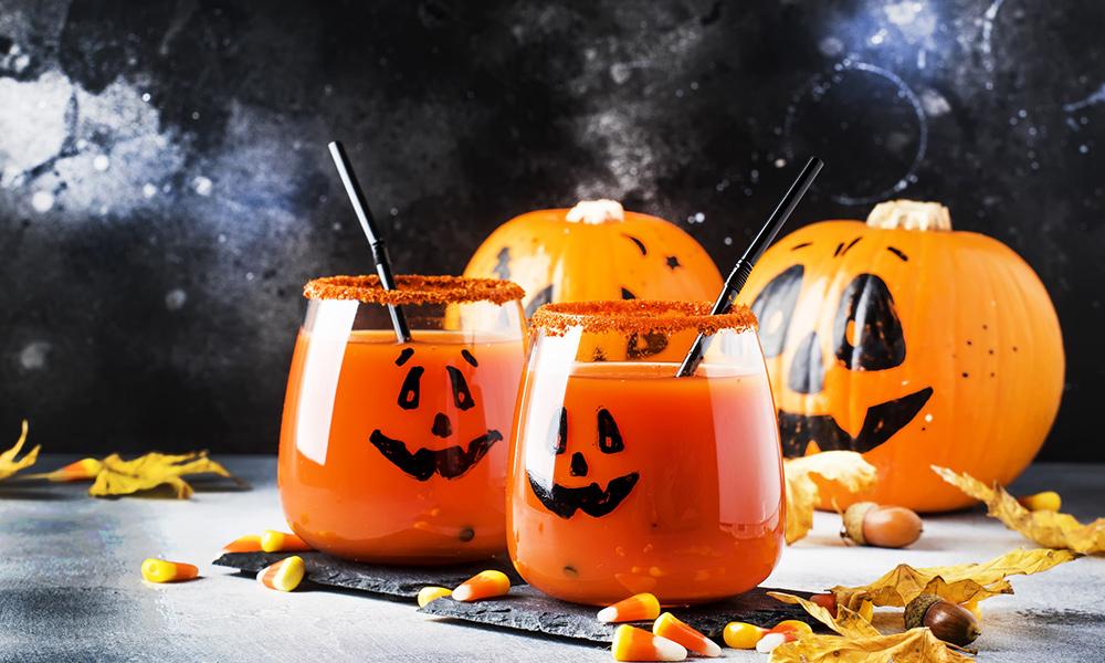 Soupe/potage halloween